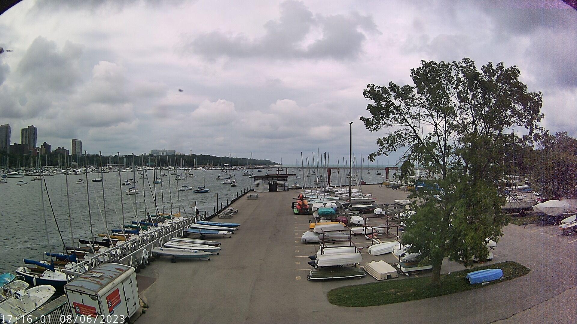 Webcam of the Sailing Center docks